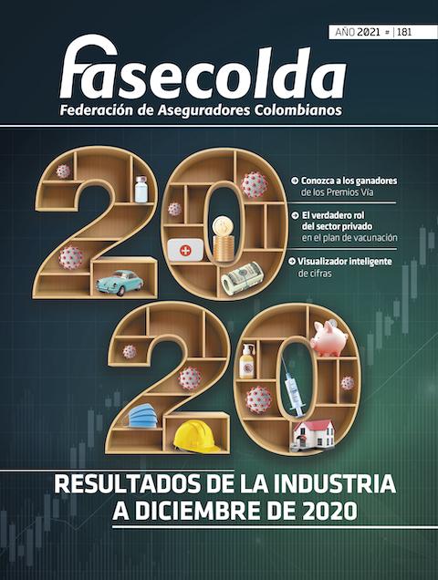 Revista Fasecolda_resultados de ola industria a diciembre de 2020